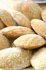 Yummy Link: Apple Cinnamon Madeleines