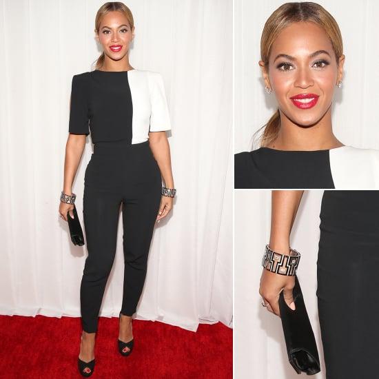 See Beyonce's Osman by Osman Yousefzada Grammys Jumpsuit!