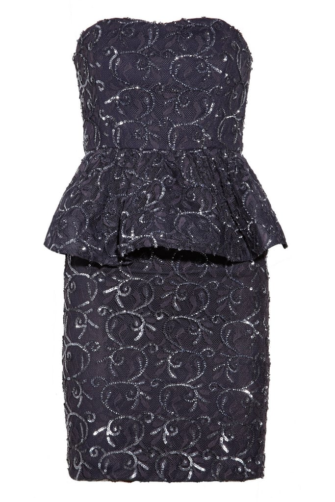 We'd wear this Alice + Olivia Elise lace peplum dress ($220, originally $550) to a Winter wedding, dinner, holiday party, the list goes on and on.