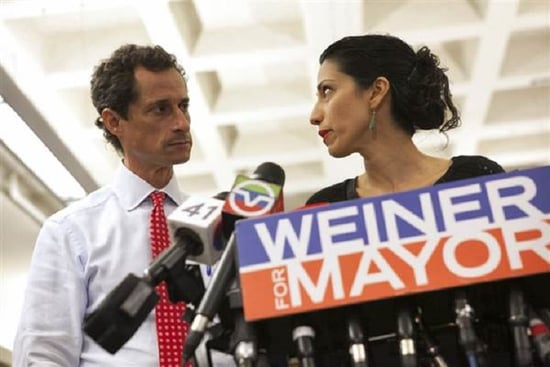 Hillary Clinton Aide Huma Abedin Is Separating From Anthony Weiner After Latest Sexting Scandal
