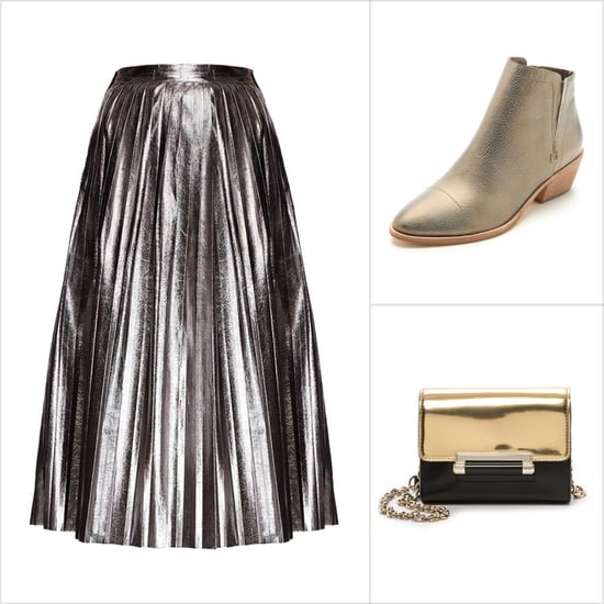 Metallic Holiday Clothes