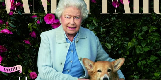 Queen Elizabeth II Poses For Vanity Fair, Gets Upstaged By Her Adorable Dogs