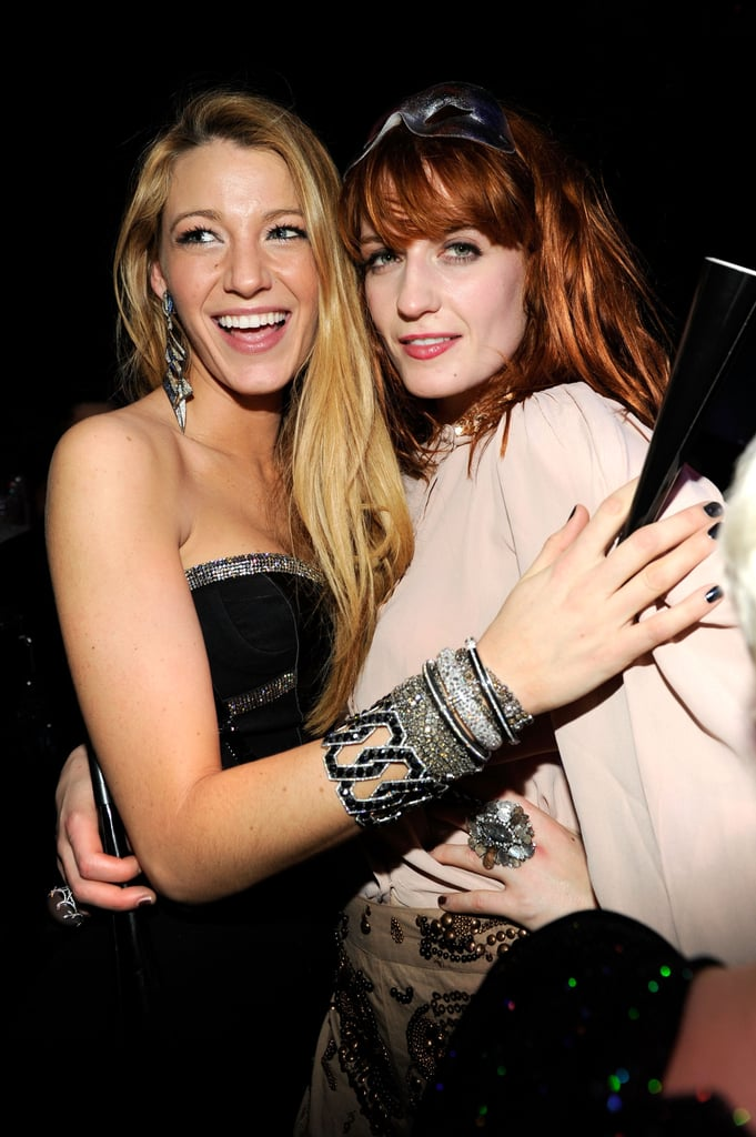 Blake Lively and Florence Welch celebrated in lots of festive jewels.