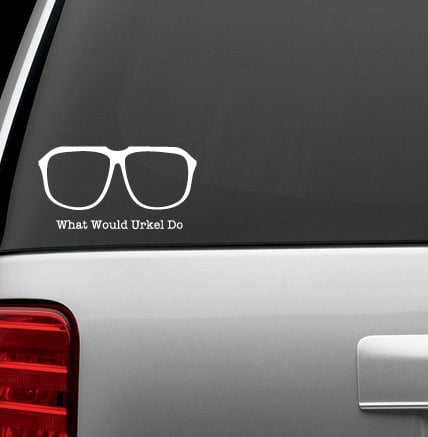 Family Matters What Would Urkel Do Decal ($5)
