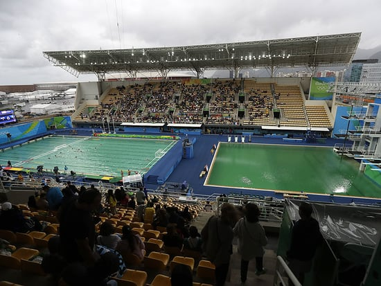 Green Olympics Pools to Finally Be Drained After Olympics Officials Blame Accidental Hydrogen Peroxide Error