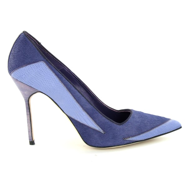 Manolo Blahnik Patchwork Pump ($965)