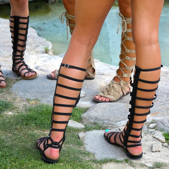 Types of Lace-Up Sandals