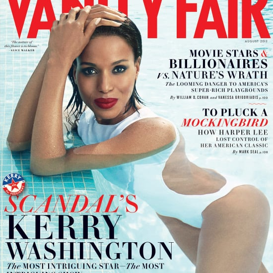 Kerry Washington on Vanity Fair August 2013 Cover