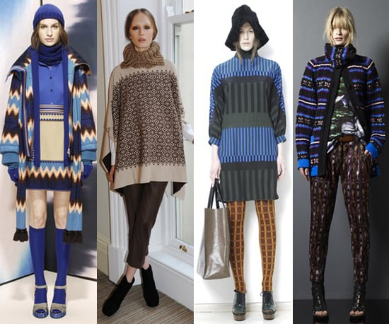 Pre-Fall 2011 Trend: Bold and Patterned Knitwear