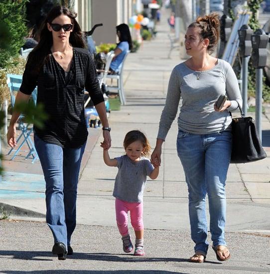 Pictures of Jennifer Garner, Violet and Seraphina