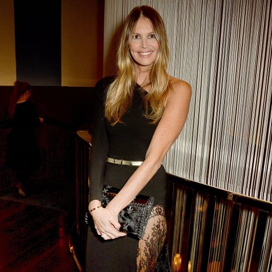 Elle Macpherson Wears See-Through Skirt | March 2016