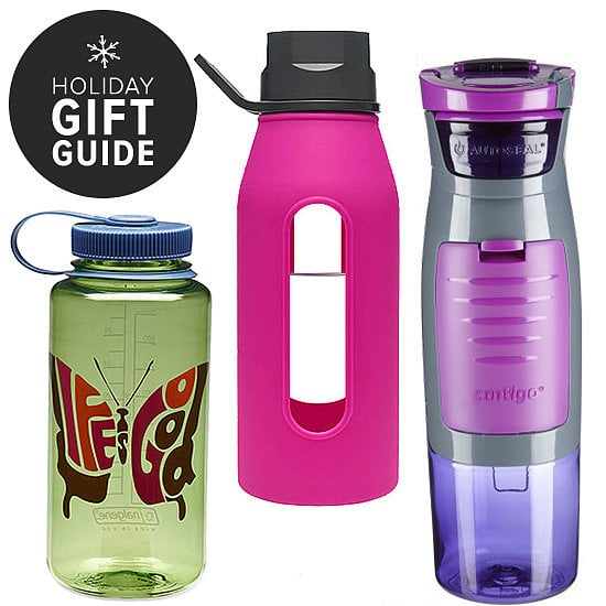 Whether you're perusing presents for a fitness buff, a friend looking to improve her health in 2014, or anyone who loves a good pop of color, click through all these water bottle options, and start checking friends and family off your list.