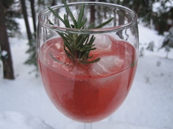 Rosemary Cranberry Martini Recipe