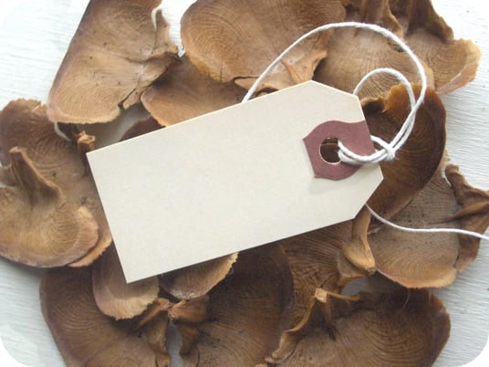 How-To:  Make Homemade Gift Tags