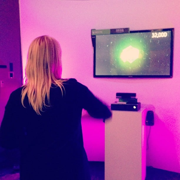 Xbox One in the flesh! Bohemian Rhapsody dance party the game Fantasia.