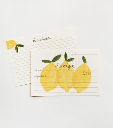 Rifle Paper Co.'s Recipe Cards ($12)
