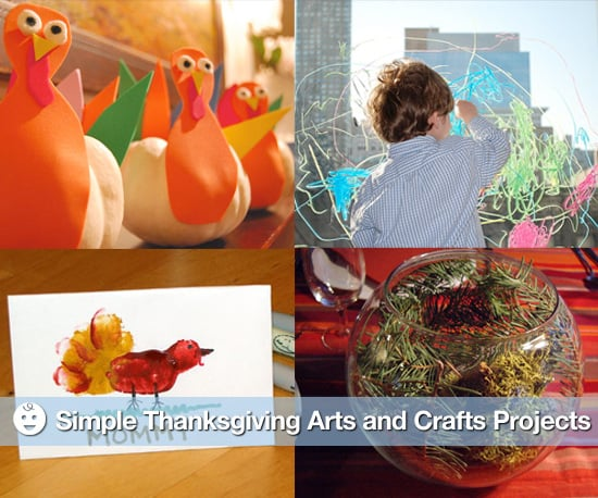 Six Simple Thanksgiving Arts and Crafts Projects