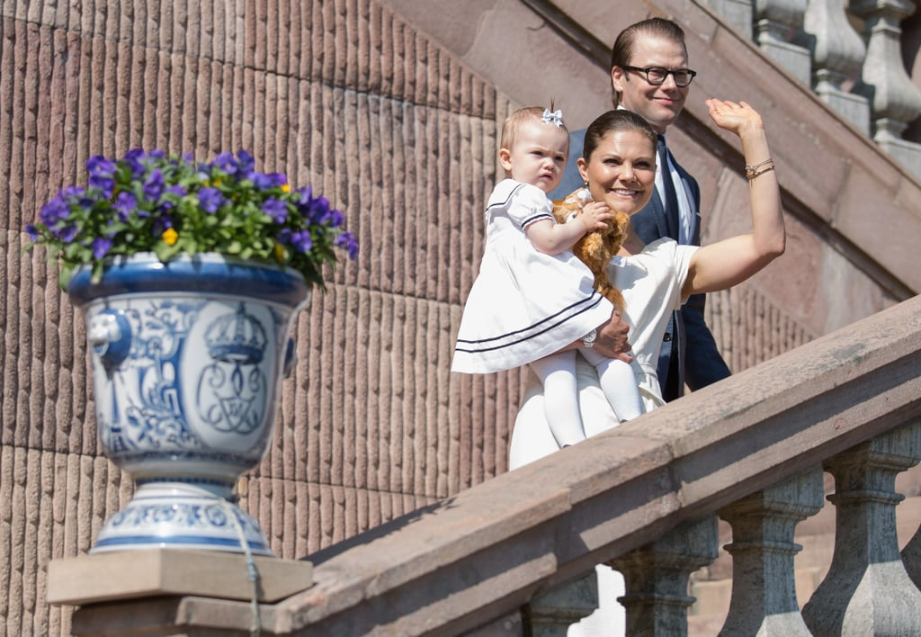 Princess Victoria waved to the crowd.