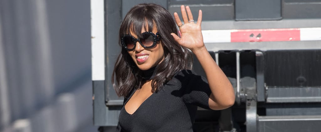Kerry Washington Shows Off Her Growing Baby Bump During a Sunny Outing in LA