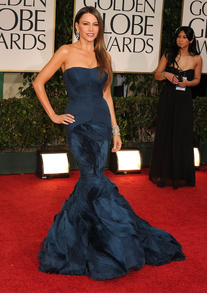 Sofia Vergara in Vera Wang in 2012.