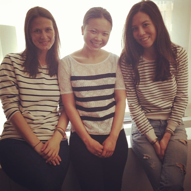 On Wednesdays, we wear black and white stripes!