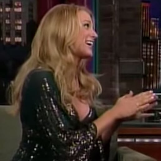 Blake Lively's First Time on Late Show With David Letterman