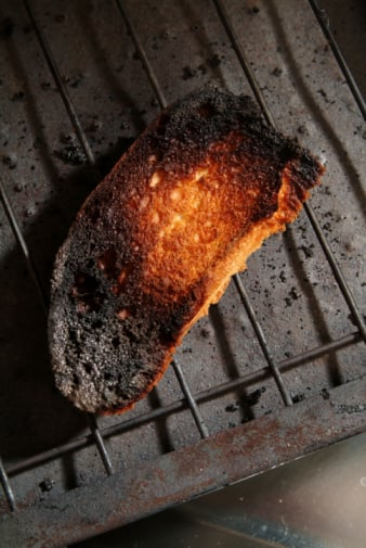 When You Burn Toast, Do You Scrape and Eat It or Trash It?