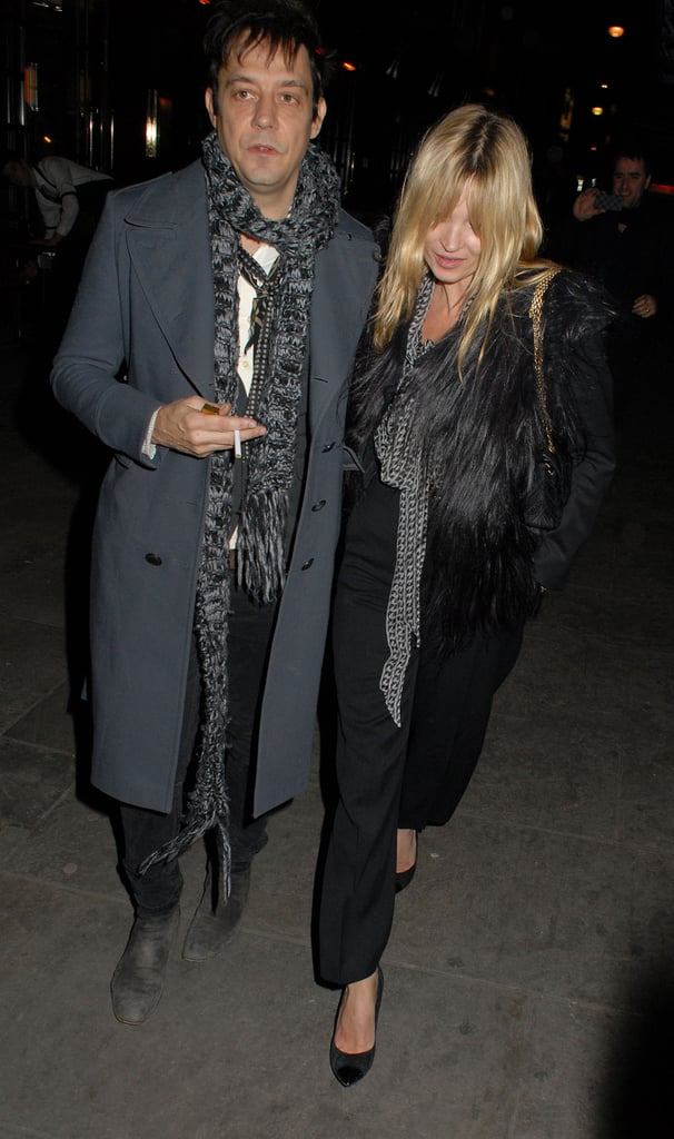 Kate Moss and Jamie Hince are spending some time in England.