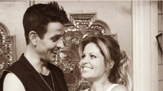 Candace Cameron Bure Reunites With NKOTB's Joey McIntyre on 'Fuller House' Set: 'Dreams Really Do Come True'