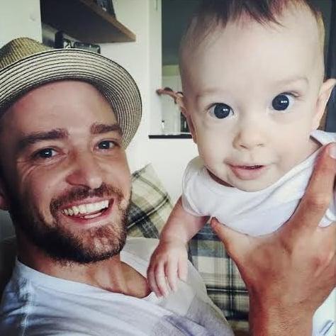 Justin Timberlake Shares Photos of Baby Silas