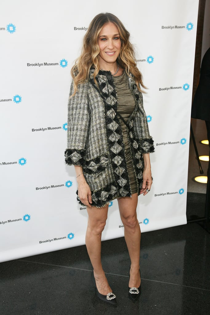 For the 2011 Brooklyn Artists Ball, the blond beauty showcased her gorgeous gams in a ruched Chanel mini and embroidered Lanvin coat.