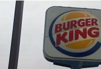 SpongeBob Hiring at Burger King Sign