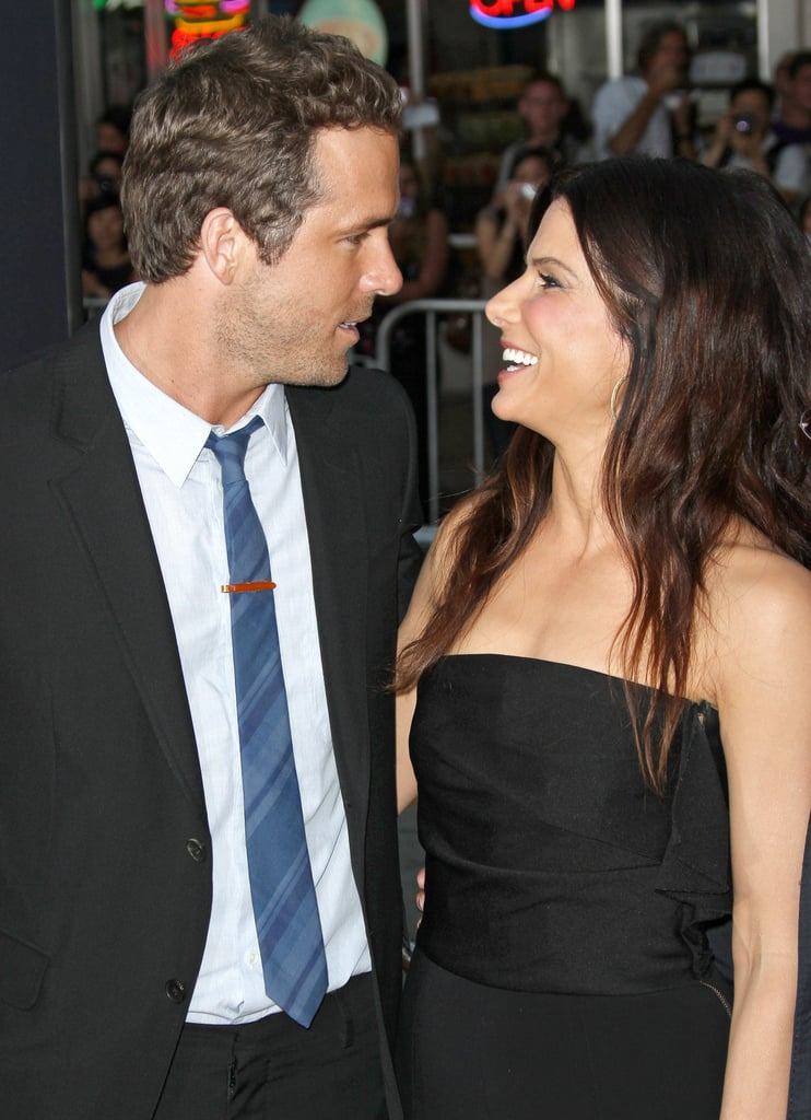 Sandra showed up to support her pal Ryan Reynolds at the premiere of his film The Change-Up in August 2011.