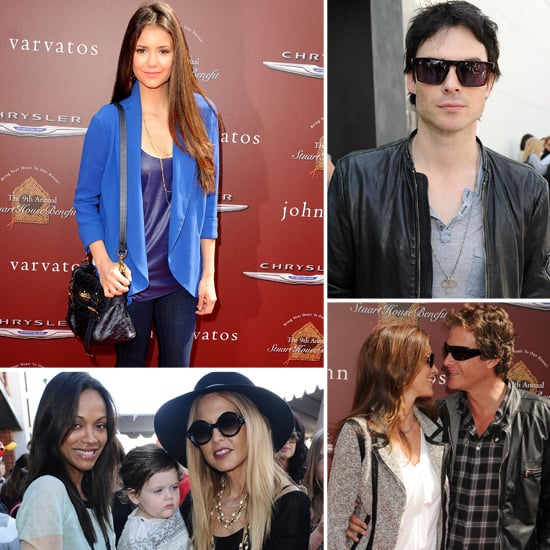 Nina Dobrev, Ian Somerhalder and Rachel Zoe Step Out For a Charitable Cause