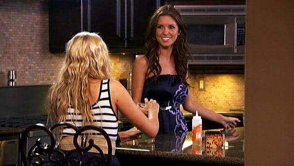 Audrina and Stephanie