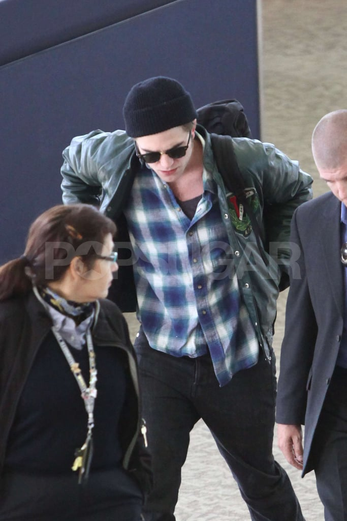 Photos of Rob at LAX