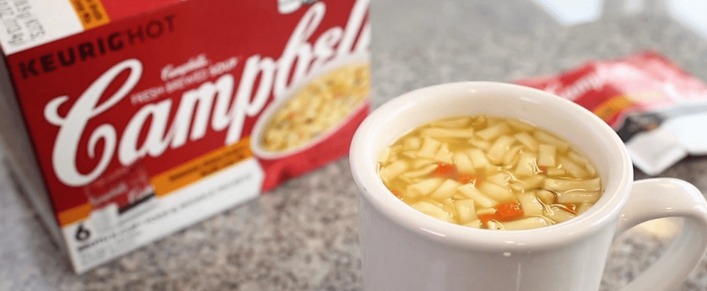 Would You Eat Soup Made in a Keurig? Campbell's Wants You to Try It