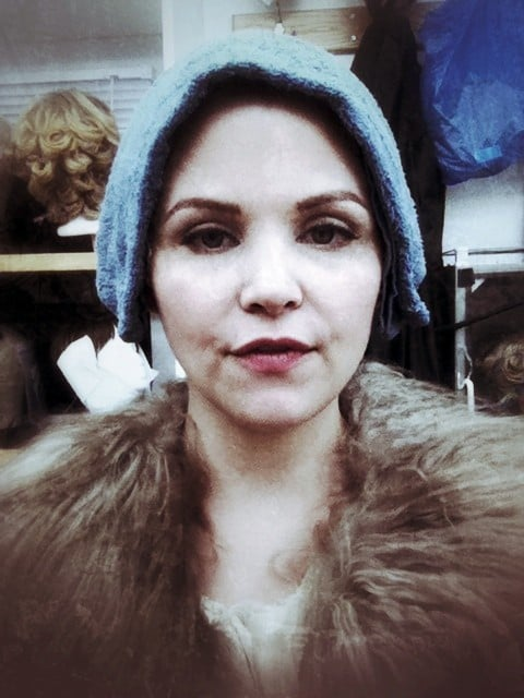 The Girl With the Fur Collar