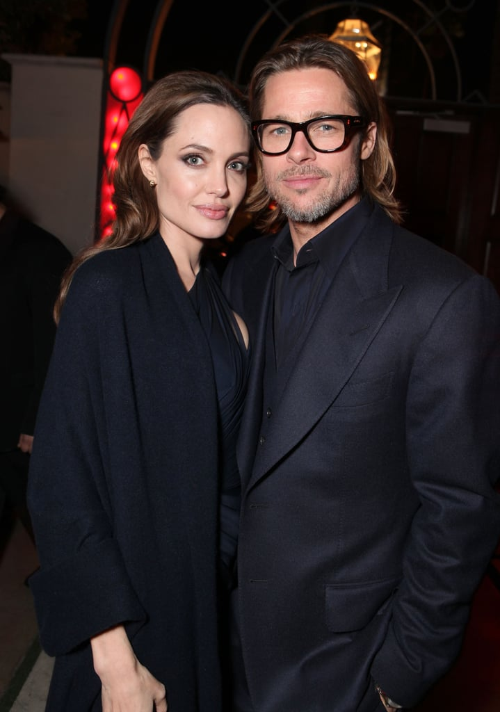 Brad Pitt and Angelina Jolie met up at her December 2011 LA premiere of In the Land of Blood and Honey.
