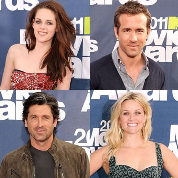 Kristen Stewart, Selena Gomez, More Pictures at the 2011 MTV Movie Awards