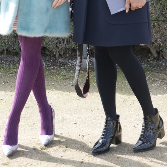 Fleece Sweater Tights