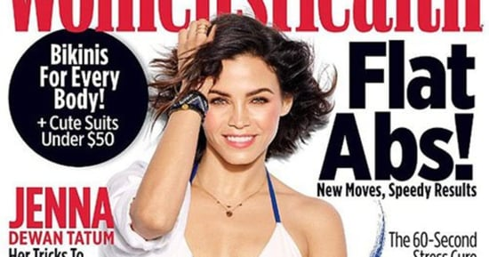 Jenna Dewan Tatum Covers 'Women's Health' in a Splashy Tie-Dye Bikini