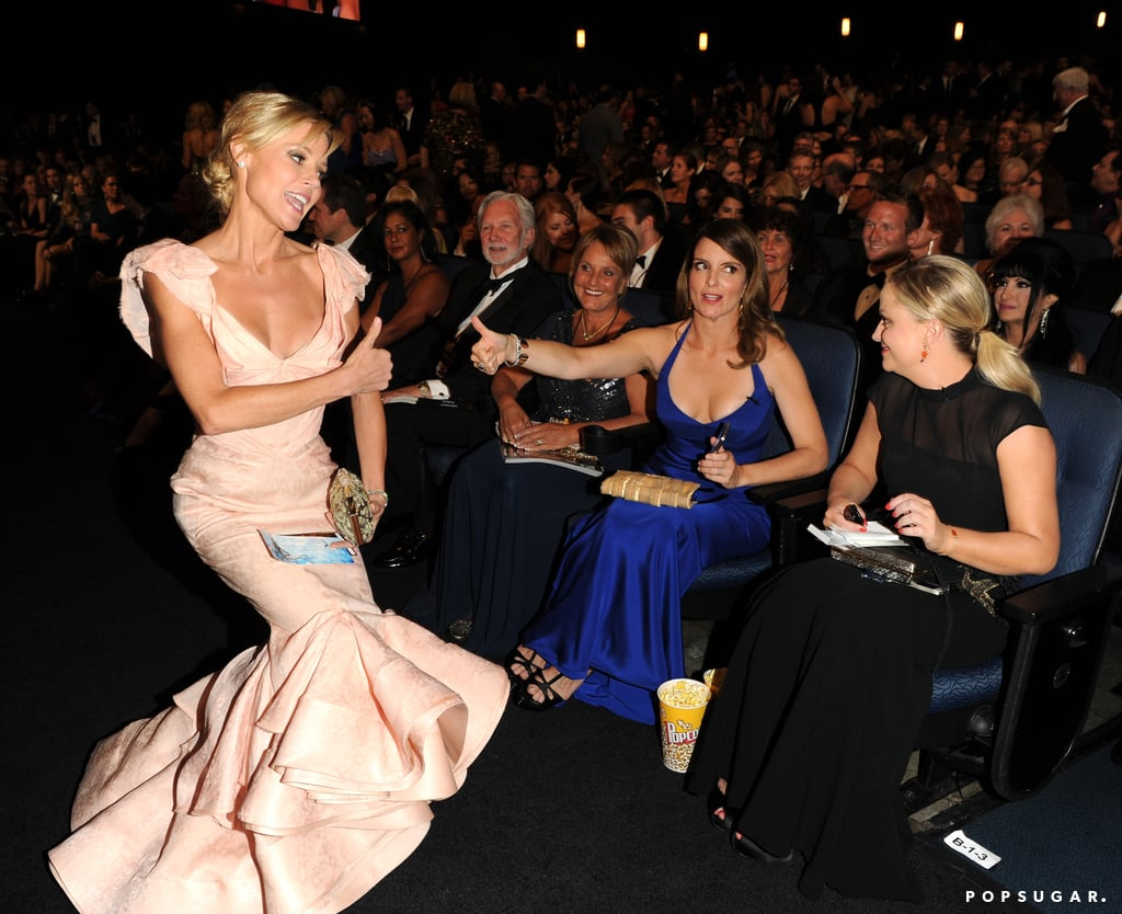 Julie Bowen chatted with Tina Fey and Amy Poehler.