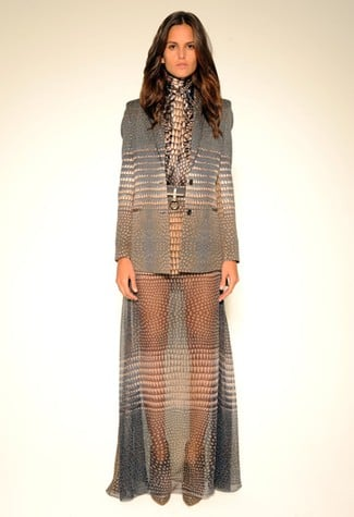 Givenchy's Sheer Maxi Skirt For Pre-Fall: Love It or Hate It?