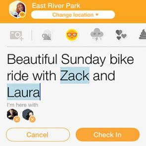 Foursquare Swarm App