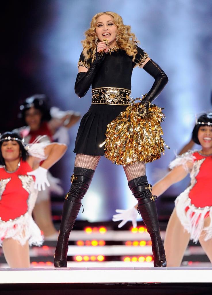 Madonna at Super Bowl