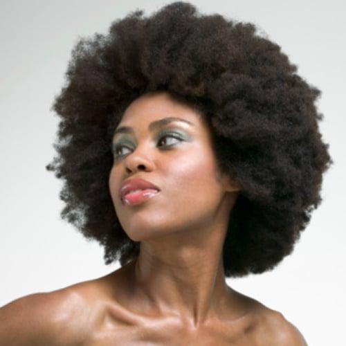 TSA Search Dallas Woman's Afro on ATL Train Platform