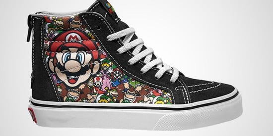 Nintendo Fans Will Freak Out Over Vans' New Retro Sneakers