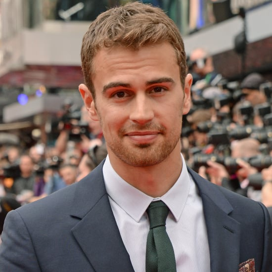 Theo James Sexy Stares | Pictures