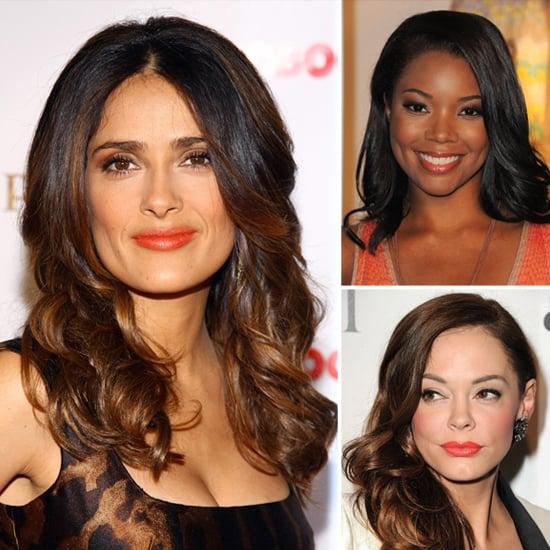 Orange Lip Color Trend For Fall 2011